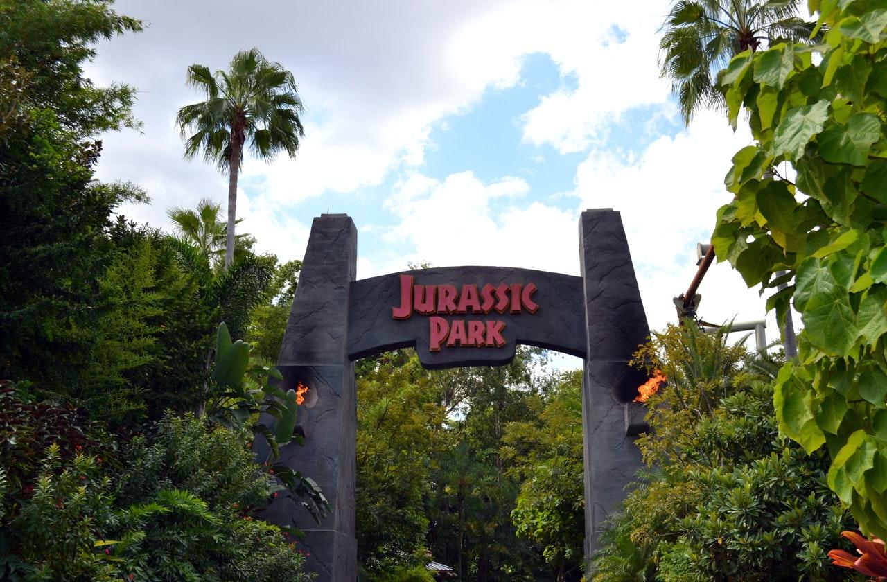 dinosaures et Jurassic park